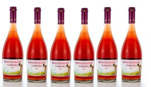 6x Makedonikos Rosé trocken aber fruchtig (750ml/12%) Tsantali