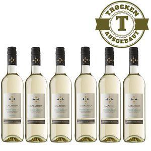 Weißwein Italien  Pinot Grigio Galatheo trocken (6x0,75L)