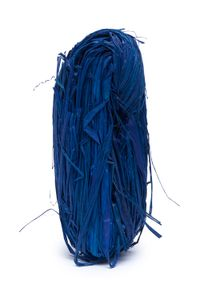 Naturbast, 50g Blau