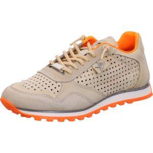 Cetti C-848 SRA , Nature Tin/Orange, Leder, Damenschuhe, Sneaker, NEU - Damenschuhe Top Trends, Beige, leder