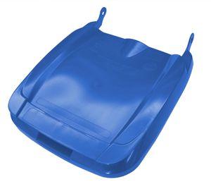 Sulo Mülltonnendeckel Deckel für Mülltonnen in der Form Euro2 für Müllgroßbehälter MGB 120 Liter (blau)
