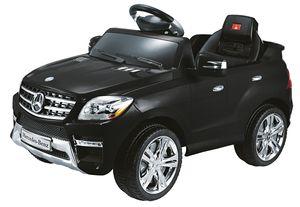 Mercedes-Benz QX ML 350 SUV SCHWARZ Kinderauto Kinderfahrzeug Kinder Elektroauto, mp3 Eingang, Sounds, Fernbedienung, Motorstartgeräusch