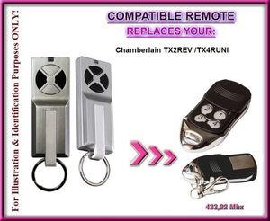 Kompatibel Fernbedienung für Chamberlain Garagentorantrieb ml510ev Basic/ml700ev Komfort/ml1000ev Premium Garage torantrieben