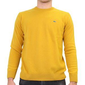 Lacoste Pullover aus Woll-Jersey Herren Gelb (AH0841 1DS) Größe: 4 (M)