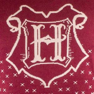 Harry Potter Strickpullover - Ugly Hogwarts Christmas Sweater S