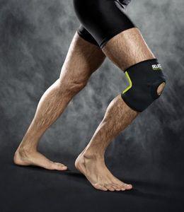Select Kniebandage 6201 Kniescheibenstütze schwarz, Größe:L