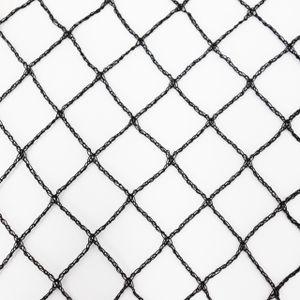 Aquagart Teichnetz 4m x 4m schwarz Fischteichnetz Laubnetz Netz Vogelschutznetz robust