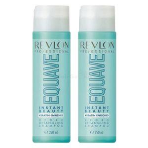 Revlon Equave Hydro Nutritive Detangling Shampoo 2x250ml = 500ml