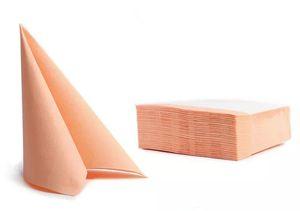 50 Servietten Softpoint  38x38cm apricot