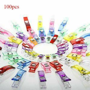 100 Stück Stoffklammern Wonder Clips Nähklammern Nähclips Nähzubehör Sewing Clip