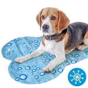 Kühlmatte für Hunde BUBBLE BONE - Gelmatte selbstkühlend und abwischbar