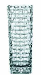 Nachtmann Vorteilsset 2 x  1 Glas/Stck Vase 4055/28cm Bossa Nova  80727 und Gratis 1 x Trinitae Körperpflegeprodukt