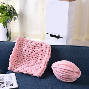 1 Stück Chunky Yarn Rosa 25 Meter