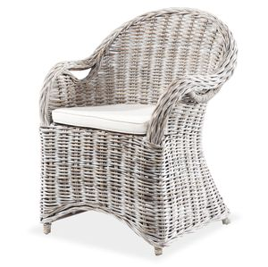 LioLiving® Rattansessel *ATHEN* weiss