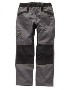 Dickies IN260 Arbeitshose IN1001, Farbe:grau/schwarz, Größe:50