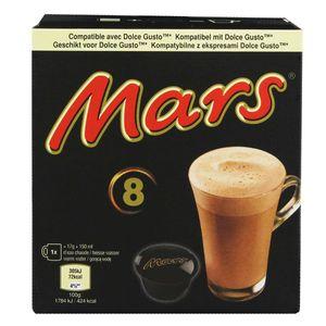 Mars Hot Chocolate Pods 8 x 17g mit Dolce Gusto kompatibel 136g