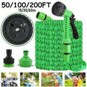 Flexibler Gartenschlauch Wasserschlauch flexibel dehnbarer Flexischlauch 30m