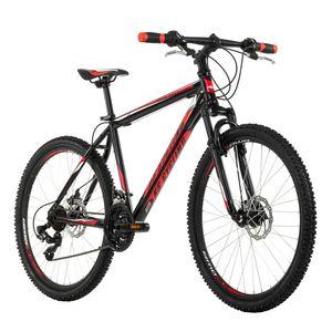 Mountainbike Hardtail 26'' Sharp schwarz-rot RH 46 KS Cycling