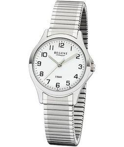 Regent Damen Armbanduhr Analog Quarz mit Edelstahl-Zugband 3085.78.99