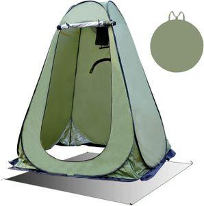 150cmx150cmx190cm Pop Up Duschzelt Toilettenzelt Umkleidezelt Camping Zelt Beistellzelt Angelzelt