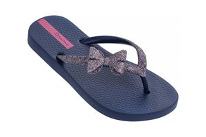 Ipanema Lolita Kinder Zehentrenner Schuhe Blau, Größe:29-30