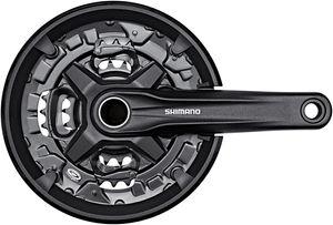 Shimano FC-MT210 Kurbelgarnitur 44/32/22 Zähne 3x9-fach Kurbelarmlänge 175mm