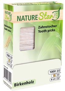franz mensch Zahnstocher NATURE Star aus Holz lose 1.000 Stück