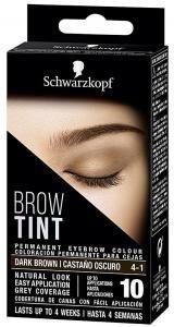 Schwarzkopf Brow Tint Permanent Eye Brow Color 4 - 1 Dunkelbraun ist eine Augenbrauen - Tönung