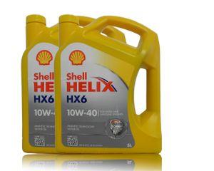 Shell Helix HX6 10W-40 2x 5L
