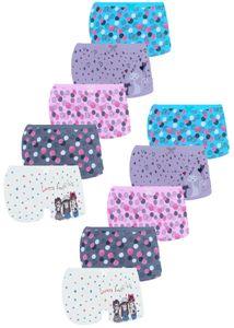 10 Mädchen Pantys aus Baumwolle Unterwäsche Gr. 152-158 (12-13 Jahre)