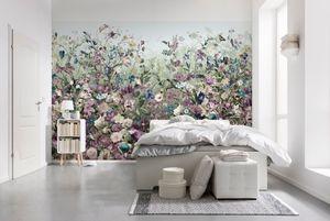 """Komar Vlies Fototapete """"Botanica"""", Blumen, Schlafzimmer, bunt, 368 x 248 cm; XXL4-035"""