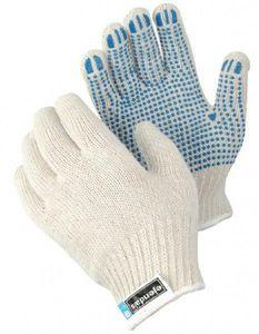 12 Pa. - TEGERA Strickhandschuhe Arbeitshandschuhe mit Noppen Noppenhandschuh, Konfektionsgröße:Männer / 10