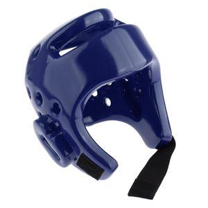 Taekwondo Kopfschutz Erwachsene M Blau