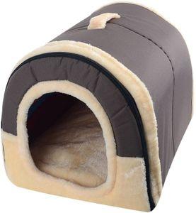 Hundebett Katzenbett Hundehöhle Hundehütte Tragbar Outdoor/Indoor