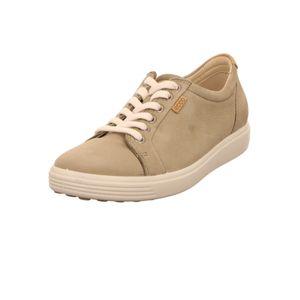Ecco Soft 7 Damen Sneaker in Beige, Größe 39