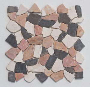M-015 Mosaikfliesen Stein Marmor Bruchstein - Naturstein Fliesen Lager Verkauf Stein-Mosaik Herne NRW