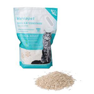 Versapet Tofu Katzenstreu Klumpstreu Cat Litter Staubfrei 6 Liter