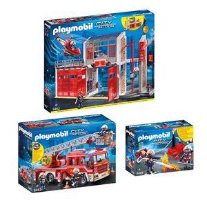 Feuerwehr Set 3 - 3er Set 9462 + 9463 + 9468
