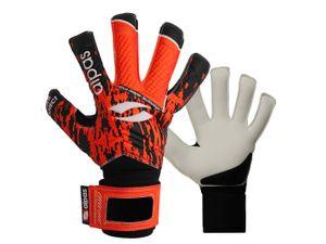 alpas Gr. 6 Torwarthandschuhe PowerSafe V3 Orange (Fingersave)