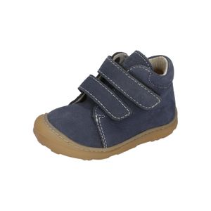 Ricosta Kinder Halbschuhe Klettschuhe Leder blau 24