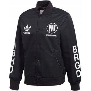 Adidas Originals Herrenjacke Stadium Jacket Sportjacke Mit Knöpfen In Schwarz Größe S CD7732