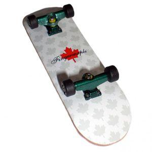 Fingermaple Profi Fingerboard Komplettboard aus Holz Green/Black -  USA - Luxury Edition - Absolutes Profi Finger