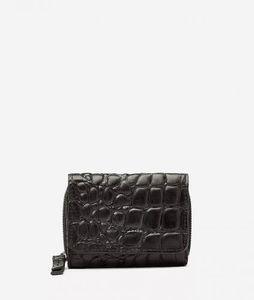 LIEBESKIND BERLIN Croco Pablita20 Wallet Black