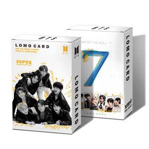 30pcs Kpop BTS Photocards, New album Bantan Boys Postkarte Lomo Karten Fotokarten, Gift for A.R.M.Y Fans, 6x9cm -H10