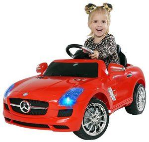 Kinder-Elektroauto Mercedes AMG SLS Lizenziert (Rot)