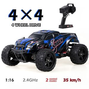 REMO HOBBY 1631 RC Auto 35km / h 1/16 2,4 GHz 4WD RC Buggy Truck Racing Big Foot Gelaendewagen RTR