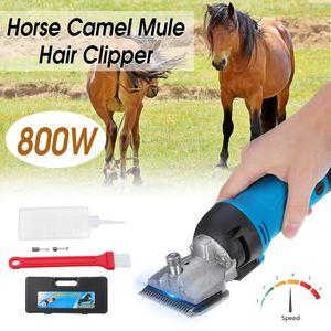 800W Pferd Schermaschine Rasierer Pferdeschermaschine Haarschneider 6-Stufen