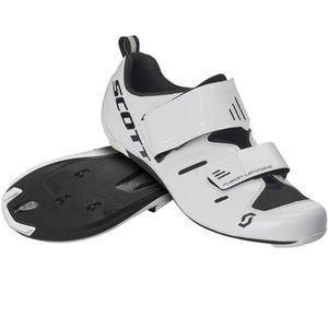 Scott Fahrradschuhe Road Tri Pro gloss white/black 47