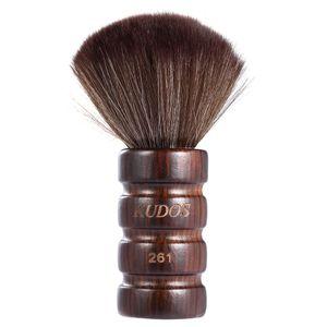 Barber Neck Duster, Nackenpinsel Friseur mit Holzgriff, Barbier Haarpinsel Bürste