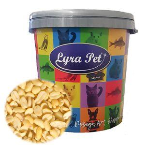 10 kg Lyra Pet® Erdnusskerne SPLITS HK Südamerika in 30 L Tonne